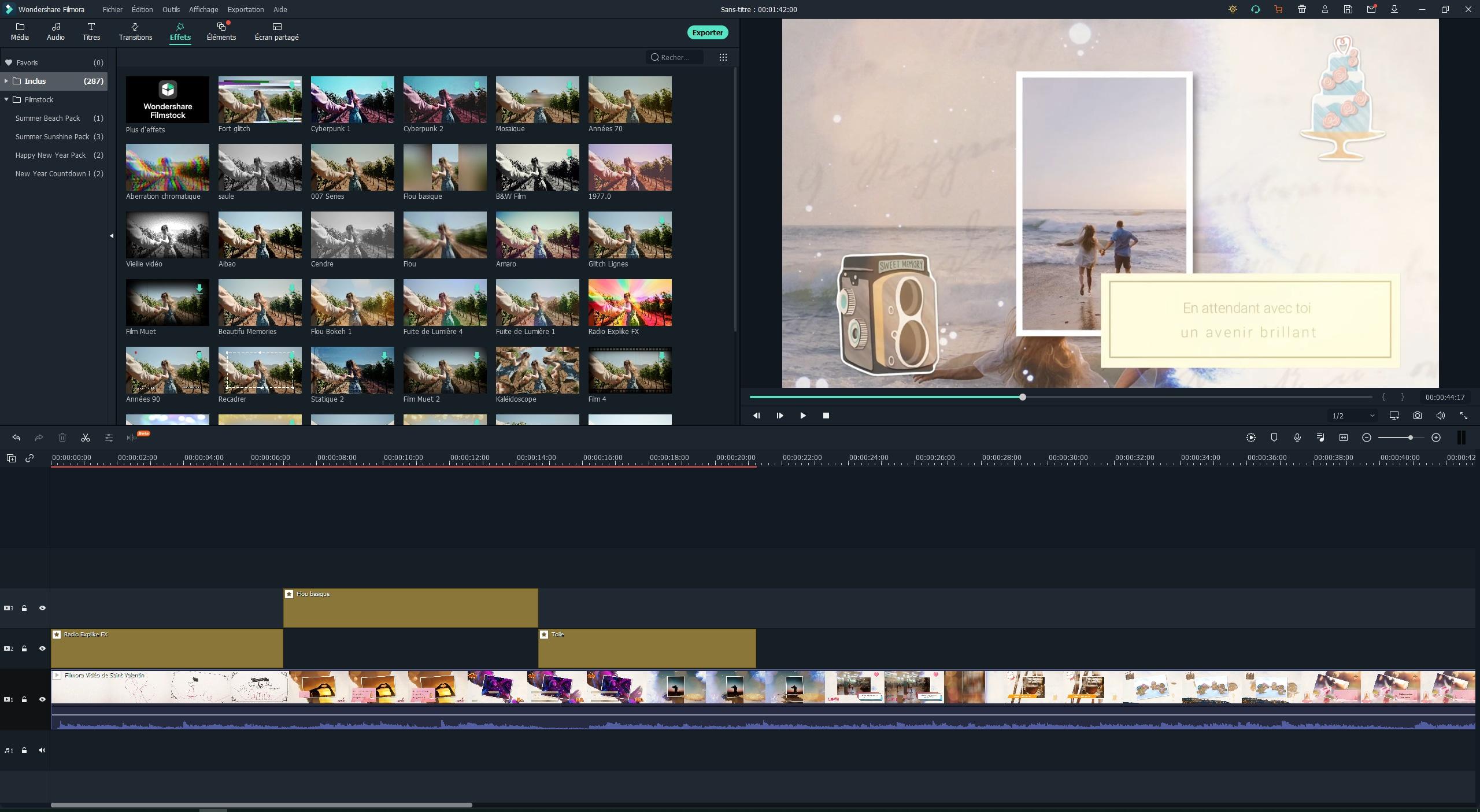Final Cut Pro X gratuit - Amélioration de vidéo via une grande variété de filtres