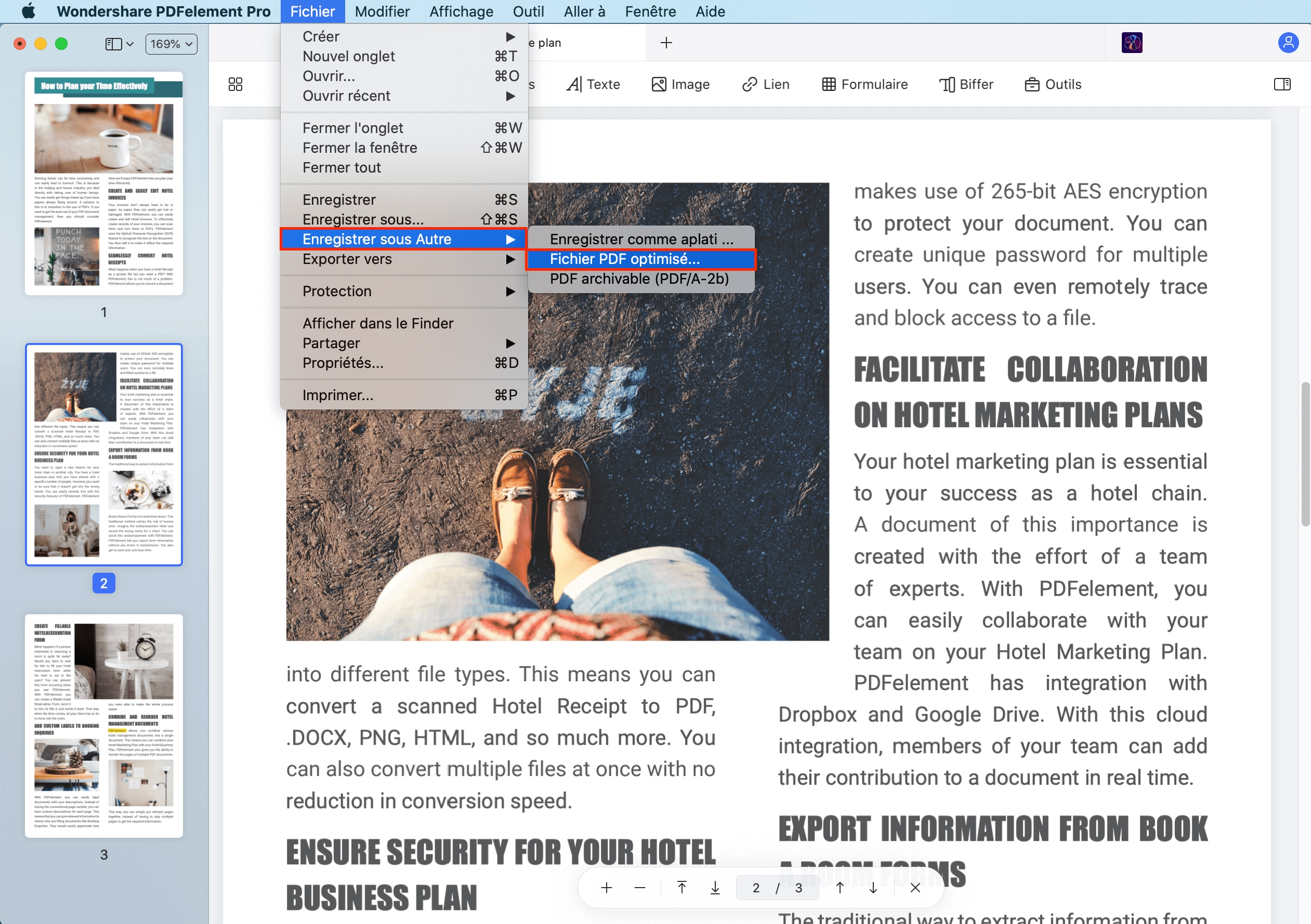 optimiser le pdf