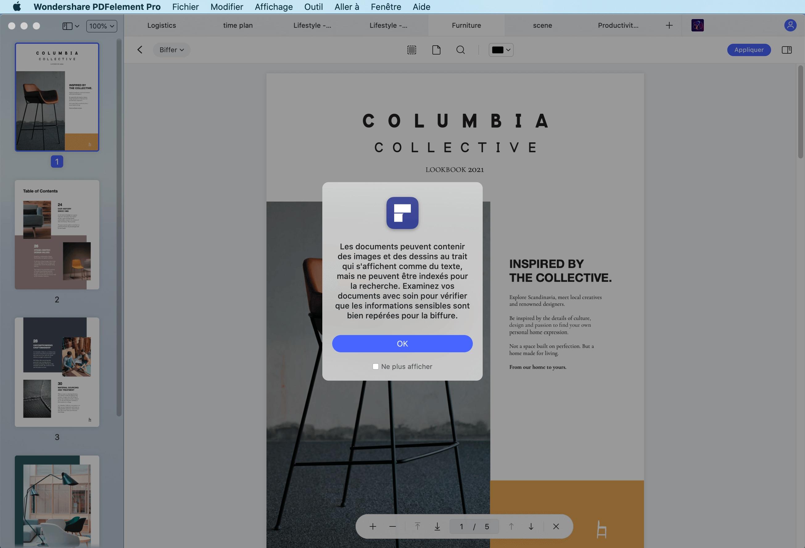 rédiger un pdf