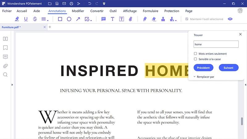 comment rechercher plusieurs fichiers pdf