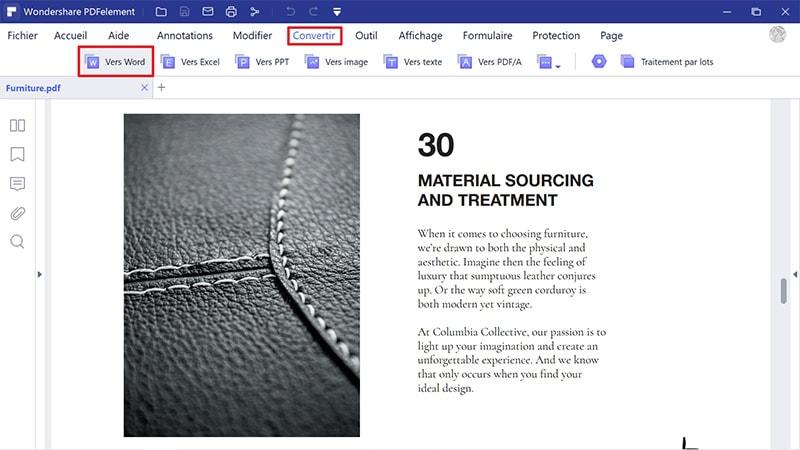 importer PDF libreoffice