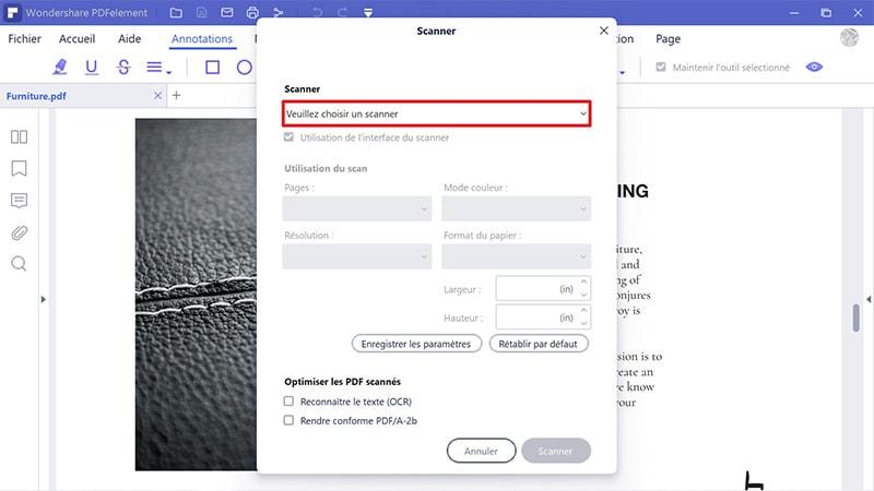 numériser document en pdf gratuitement