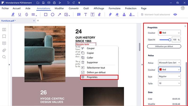 comment convertir pdf en formulaire à remplir
