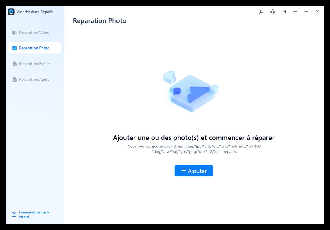 Réparer les images endommagées/corrompues à l'aide des outils de réparation de photos-étape 1