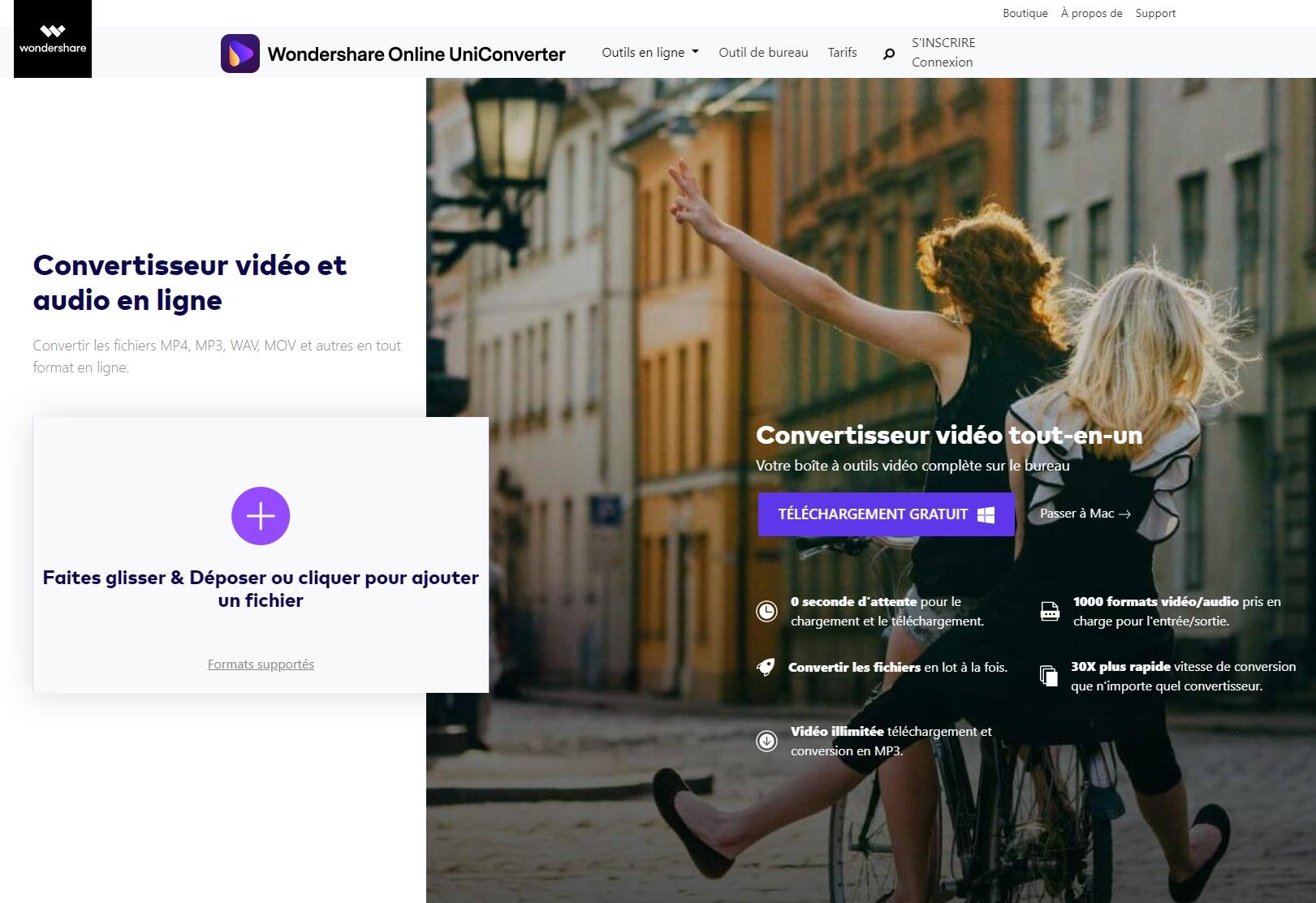 Convertir MOV en MP4 en ligne - Online UniConverter